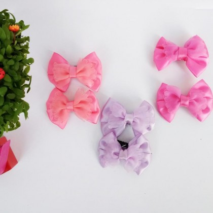 FLASH SALE! Baby Kids Girl Hair Accessories Assorted Hairpins Set Kids Baby Girls Sweet Bowknot Hair Clips Pins Accessories Gift for Daughter - Random Color