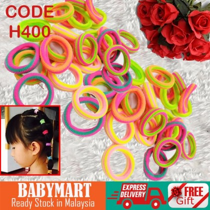 Limited Time Offer! Baby Hair Accessories Elastic Cute Candy Color Rubber Hair Band Colourful Random Accessories Girl : BABYMART.MY