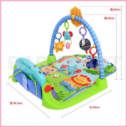 Fisher Price Discover n Grow Kick and Play Piano Gym Musical Fun Pink / Blue / Skyblue + FREE GIFT : BABYMART.MY Piano Gym Kick and play, piano keyboard, kick and play piano, piano digital, piano book, playpen, play mat, playstation, playground,playground
