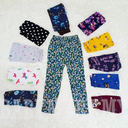 Kids Legging New Fashion Full Length Leggings Casual Flower Print Tights Cotton Long Pants Legging for Girl Toddler Kids (Random Design) : BABYMART.MY legging pants legging for kids winter legging sport legging legging baby socks seluar tight, Legging