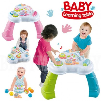 Multi-Functional Baby Learning Musical Table Baby Laugh and Fun Electronic Education Toys Helps Your Baby Takes The First Step Steadily : BABYMART.MY study table study deskstudy table for student study lamp study chair study table for kids meja study fold