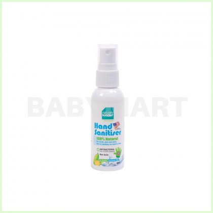 Baby Organix Antibacterial Naturally Kinder Sanitising Water Sanitizer Spray Water for All of Skin 60ml : BABYMART.MY Cleanser, Cleaning Brush, Cleansing Oil, Cleaning, Cleaner, Cleaning Tools, Sanitizer, Sanitizer Spray, Car Seat Spray, Kinder Car Seat