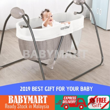 Baby Electronic Bed Rocker Bedding Swing  Musical Bed Mosquito Net Swing Bed Auto Swing Bed Premium Quality Automatic bluetooth Baby Cradle Electric Baby Intelligent Swing Bed Rocking Chair Newborn Bed Katil Baby Katil Elektrik