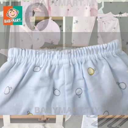 Ready Stock! 5pcs Newborn Set Baby Boy Girl Clothes 0-6 months Long Sleeve + Long Pant Clothing Sets Newborn Baby