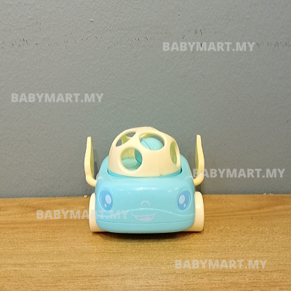 BABYMART Small Kids Car Toy With Soft Rubber No Battery (RANDOM DESIGN)