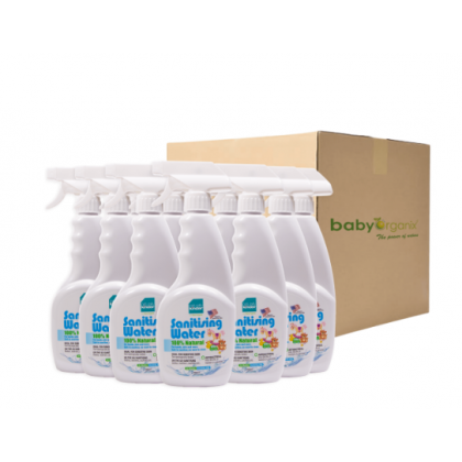 BABYMART Naturally Kinder Sanitising Water (12PCS) Bulk Order With Free Gift