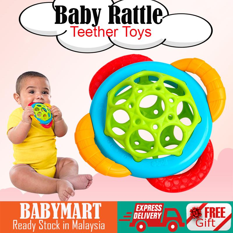 Newborn Early Learning Toy Infant Kids Baby Cartoon Musical Rattle Teether Rattle Toys Sensory Teething (Random Color): BABYMART.MY Toys for boy, Toys for Girl, Toys, Toys for Kids, Toys Education, Toys Story, Toys for Baby, Toys Car, Baby Rattle
