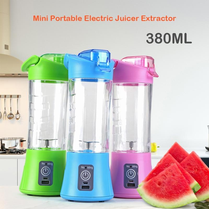 Thick Quality! Scarlett Electric Heat Jug Kettle 2L Fast Heat Boiling Automatic Shut Off Switch 2000W Jug Kettle Hot Water Heater / USB Portable & Rechargeable Battery Fruit Juice Blender Mode One Touch Switch Button (New Version): BABYMART.MY