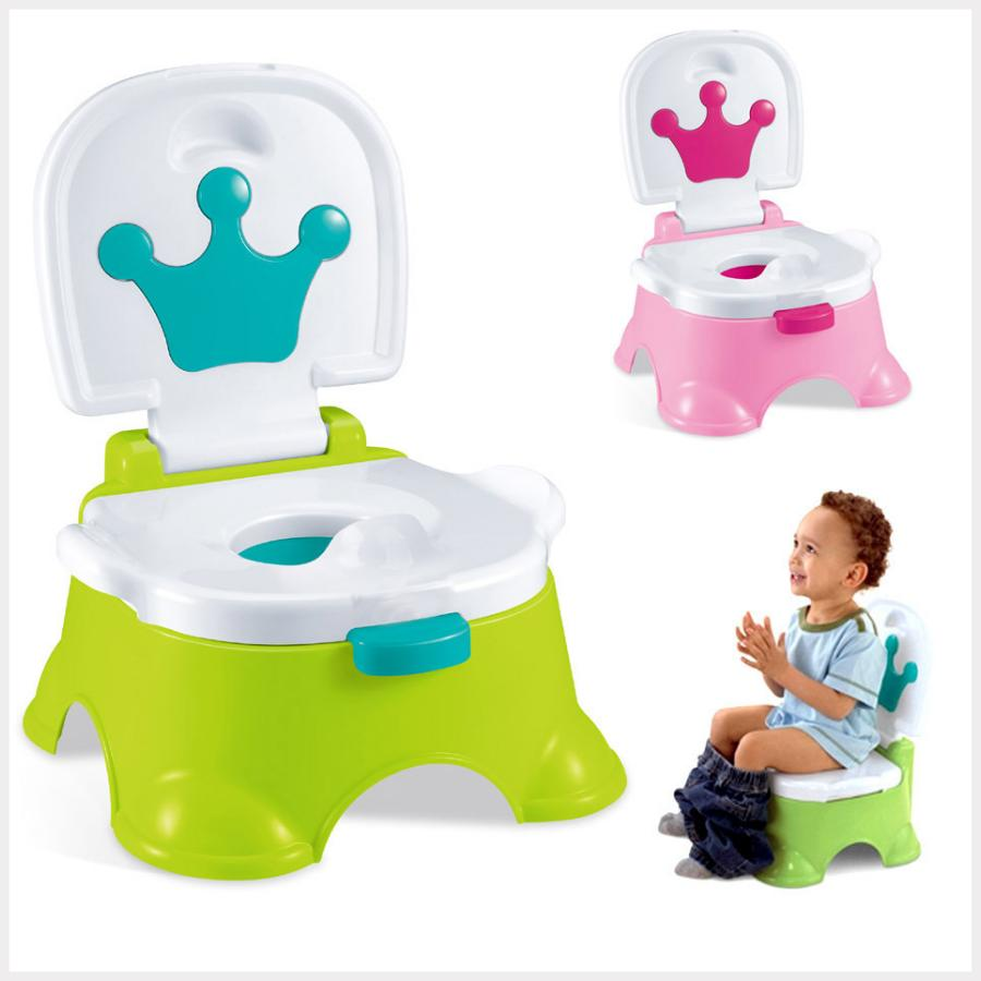 Fisher Price Baby Gear Royal Step Stool Potty Seat Training Step Stool Musical + FREE GIFT [GREEN] : BABYMART.MY potty training seat potty training pants baby potty potty training potty chair kids potty