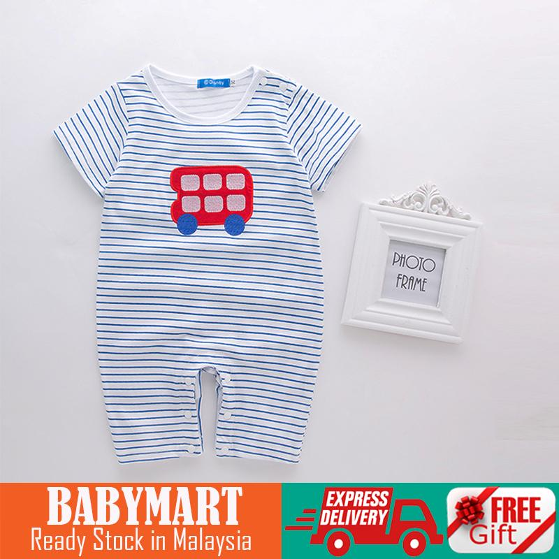 Disney Rompers Baby Clothing Summer Jumpsuit Romper Baby Girl Boy Romper Jumpsuit Baby Cartoon Print Stripes Rompers Bodysuit Birthday Christmas Gift : BABYMART.MY Rompers Bodysuit, romper, romper women, rompers baby girl, rompers baby boy, romper baby