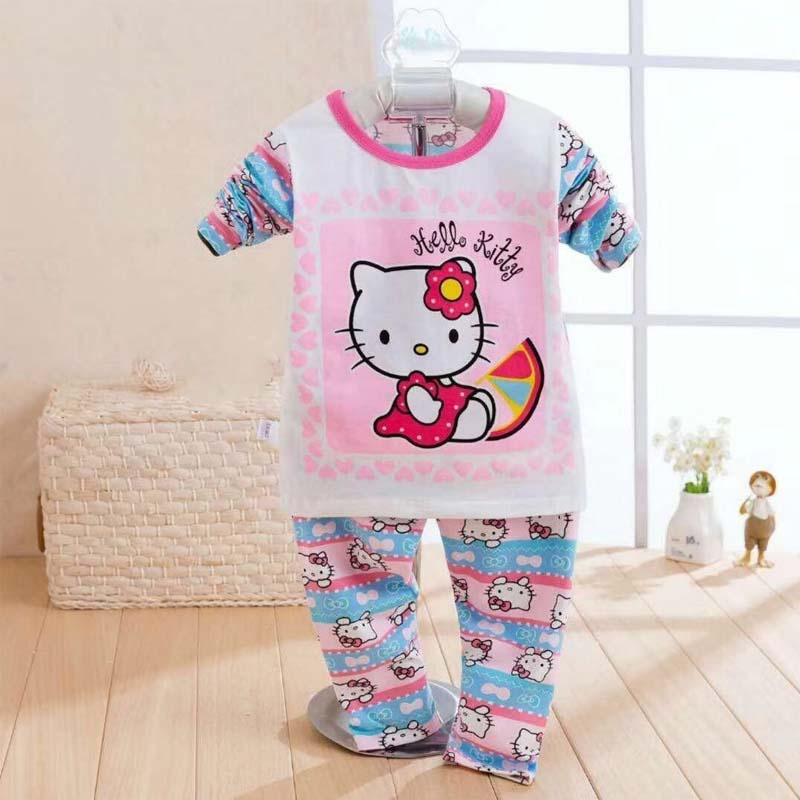 Pyjamas Kids Girls Clothing Long Sleeve + Long Pant Pyjamas Nightwear Sleep Wear Hello Kitty Design Birthday Gift : BABYMART.MY Pyjamas Women Pyjamas Kids, Unicorn Pyjamas, Pyjamas Women Cotton, Pyjamas Men, Pyjamas for Kids, Satin Pyjamas, Girl Pyjamas