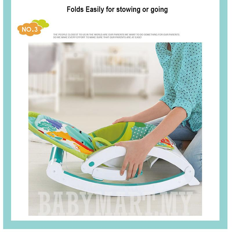 2 in 1 Musical Toddler Portable Rocker Baby with Dining Table Seat Chair Newborn Kids Children to Toddler Grown with Baby from 0-36 Months : BABYMART.MY Baby rocker bouncer, Rocker baby, Rocker Switch, Rocker chair, Baby rocker, Baby bed, fisher pricec