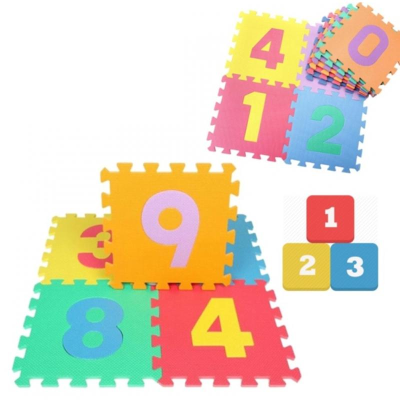 10 pcs Cute Multicolour Playmats Soft Eva Foam Number Puzzle Jigsaw Playing mat for Baby Children Kids Play Mat Indoor Outdoor Jigsaw Puzzle : BABYMART.MY eva mat,eva foam, eva foam mat, eva mat, play mat, playstation, playground, playpen,playground