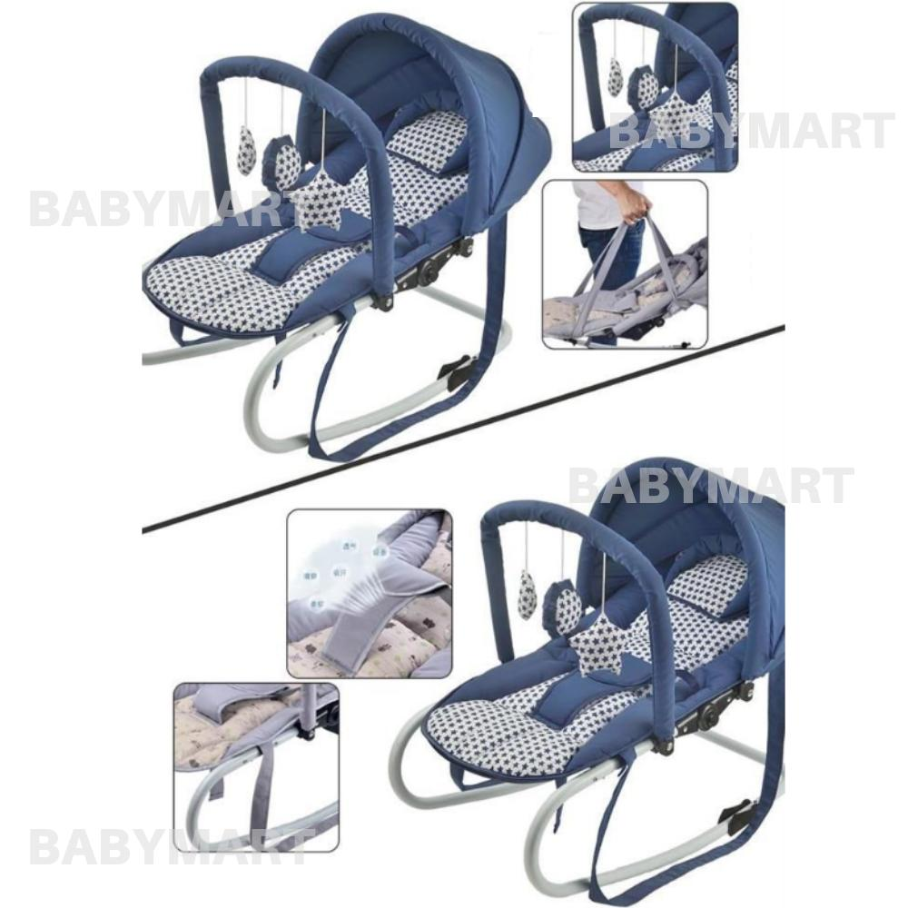 Rocker Bayi Manual Swing Baby Rocker Bedding Swing Travel Bed Premium Quality Baby Cradle Bed Rocking Chair Newborn Bed Katil Baby Kat