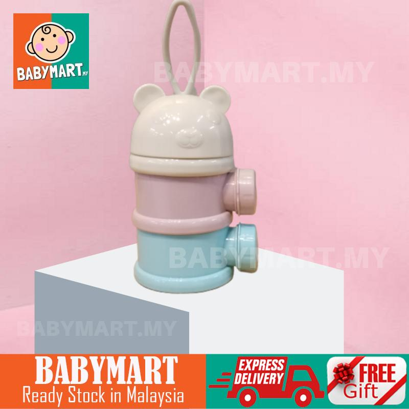 2 Layers Portable Milk Bottle Food Storage Baby Bekas Makanan Bekas Susu Bayi