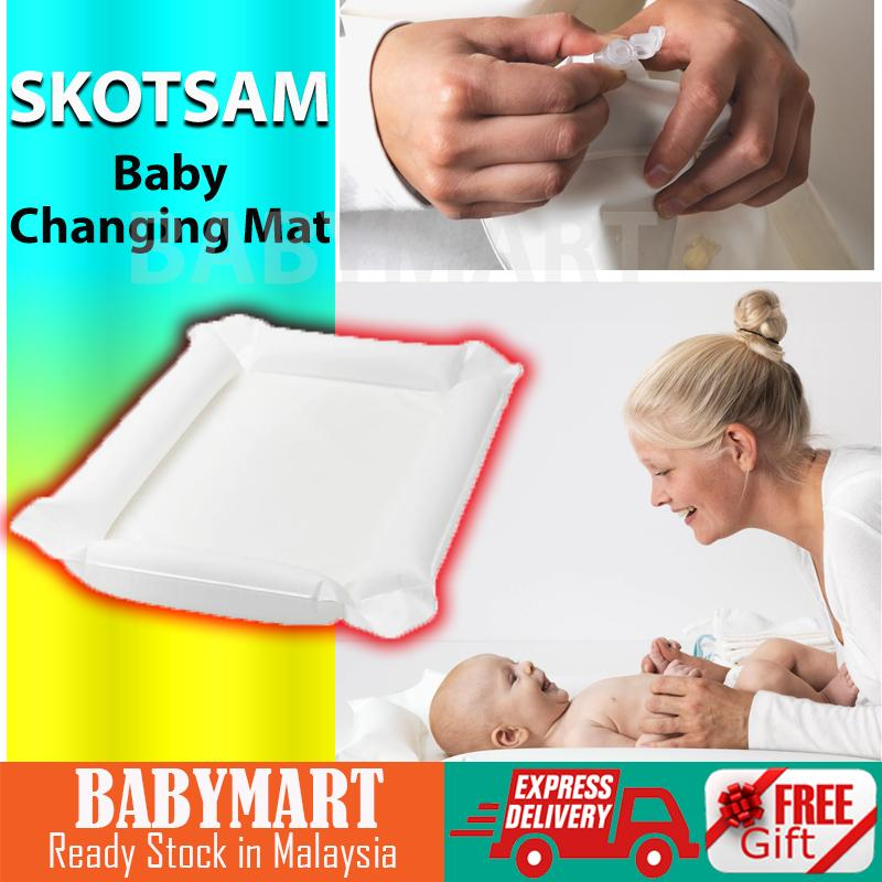Ikea Skotsam Babycare Changing Mat Pad Nappy Changes Mat White diapers diaper bag diapers pants diapers newborn diaper caddy diaper changing mat diaper backpack diaper organizer diapers newborn diapers newborn baby blanket newborn s