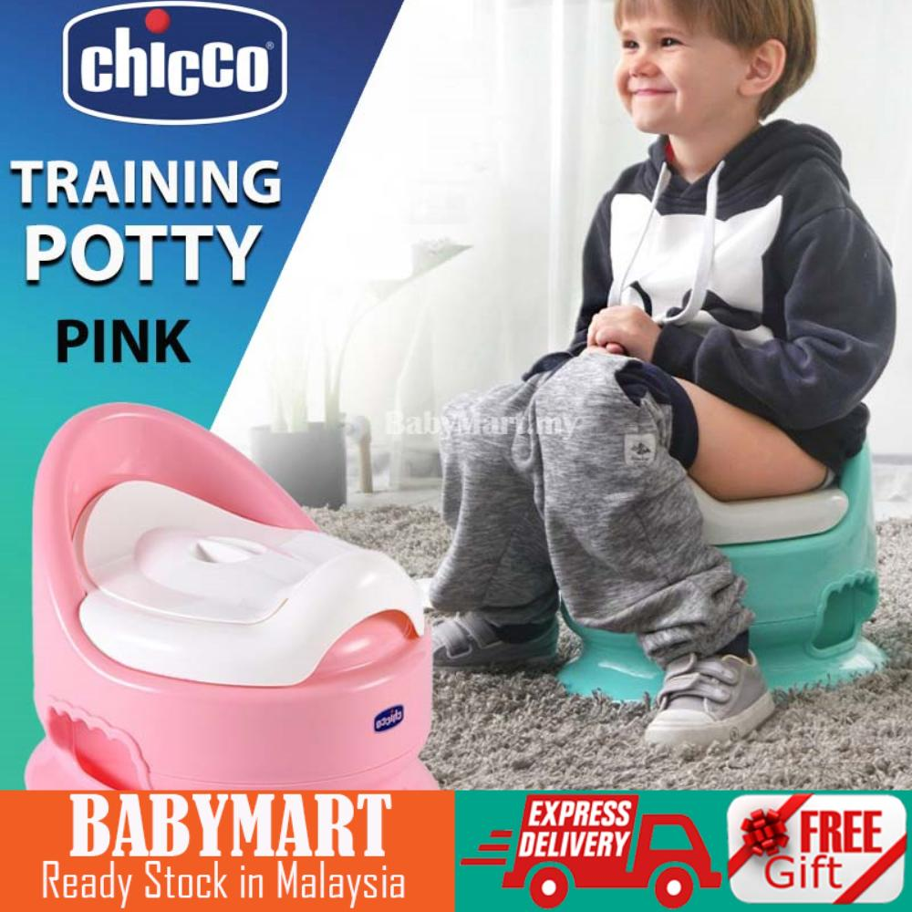 Chicco Potty Anti Slip Baby Toddler Children Training Potty Toilet Chair Seat Fits in bathrooms perfectly [PINK] : BABYMART.MY Potty training seat, Potty training pants, Baby Potty, Squatty Potty, potty chair
